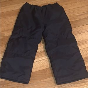 Dark Navy Blue Snow Pants Size 4